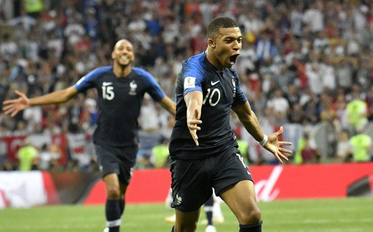 1359a41e27 Mbappé comemora o quarto gol da França na final da Copa (Martin Meissner AP)